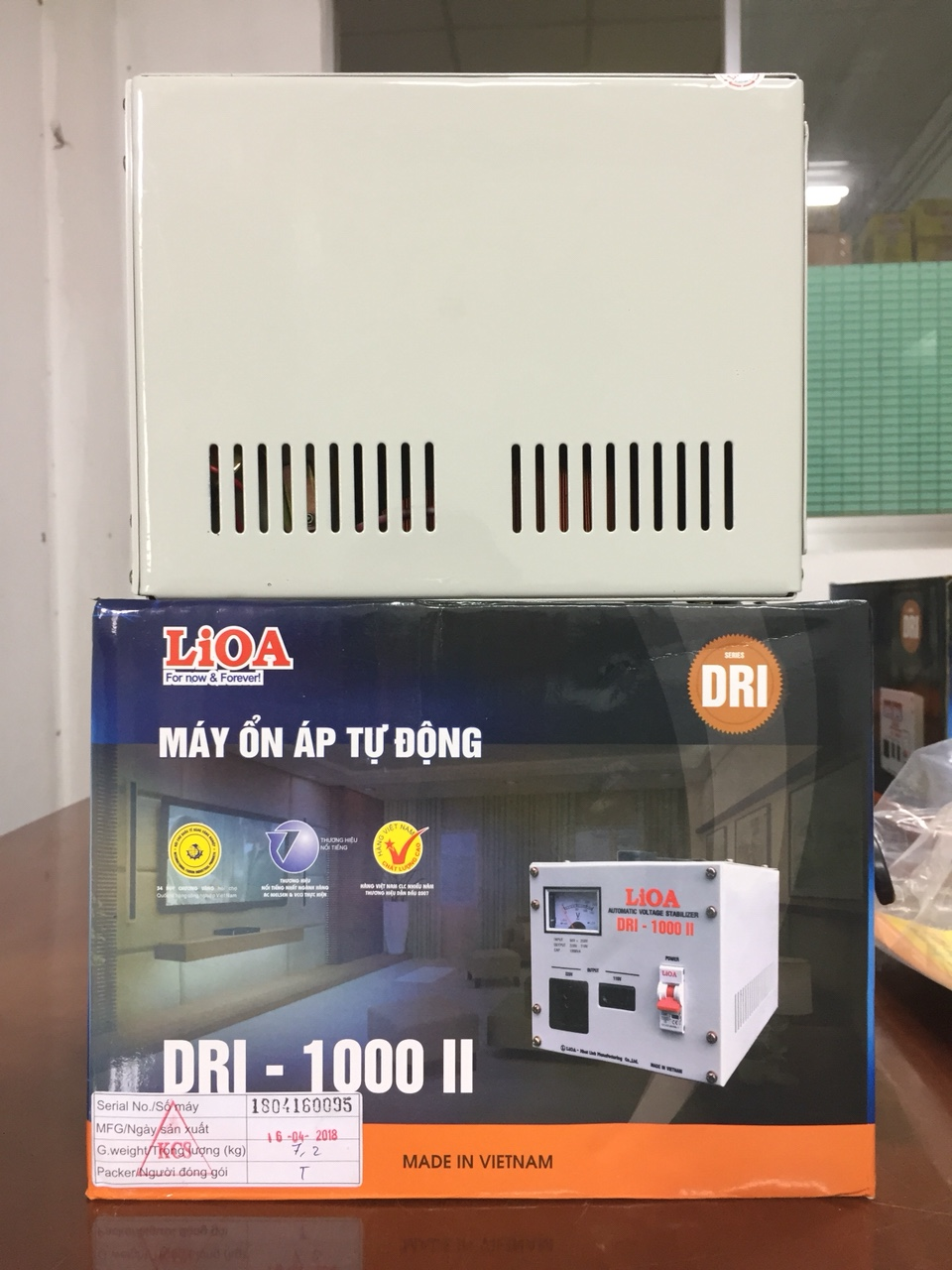 Ổn Áp LiOA 1 Pha DRI 1KVA (90-250v)