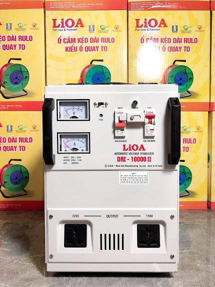 Ổn Áp LiOA 1 Pha DRI 10KVA (90-250v)
