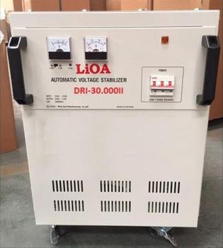 Ổn Áp LiOA 1 Pha DRI 30KVA NEW 2020 (90-250v) - Đồng hồ điện tử