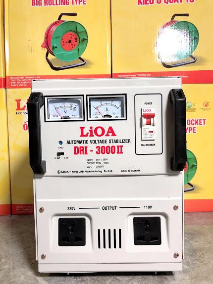 Ổn Áp LiOA 1 Pha DRI 3KVA (90-250v)