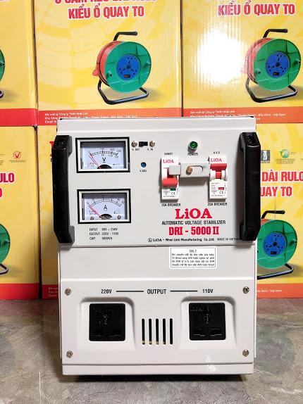 Ổn Áp LiOA 1 Pha DRI 5KVA (90-250v)