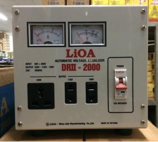 Ổn Áp LiOA 1 Pha DRII 2KVA (50-250v)