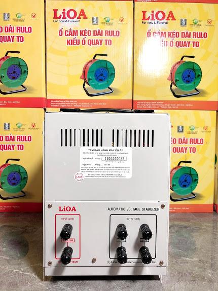 Ổn Áp LiOA 1 Pha DRII 5KVA (50-250v)