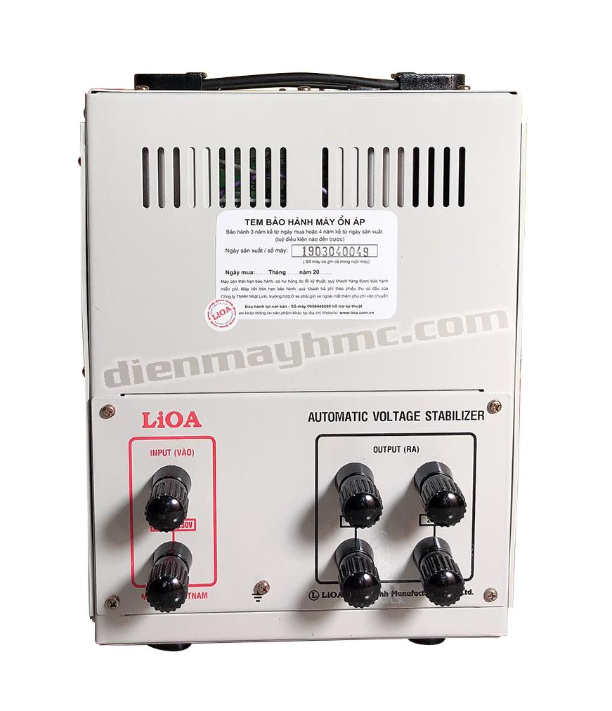 Ổn Áp LiOA 1 Pha SH 10kva (150-250v)