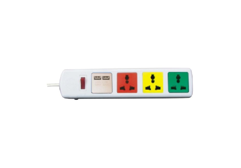 Ổ Cắm Kéo Dài Đa Năng Có Cổng Sạc USB LiOA 4D32WNUSB