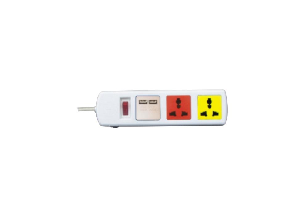 Ổ Cắm Kéo Dài Đa Năng Có Cổng Sạc USB LiOA 3D32WNUSB