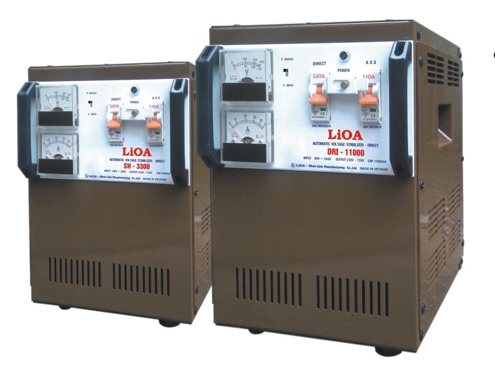 Ổn Áp LiOA SH-5500 Cho Thị Trường Đồng Nai Và Tây Nguyên