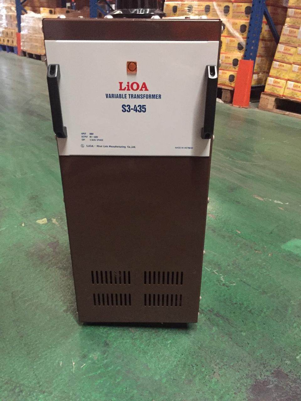 Biến Áp Vô Cấp LiOA S3 435