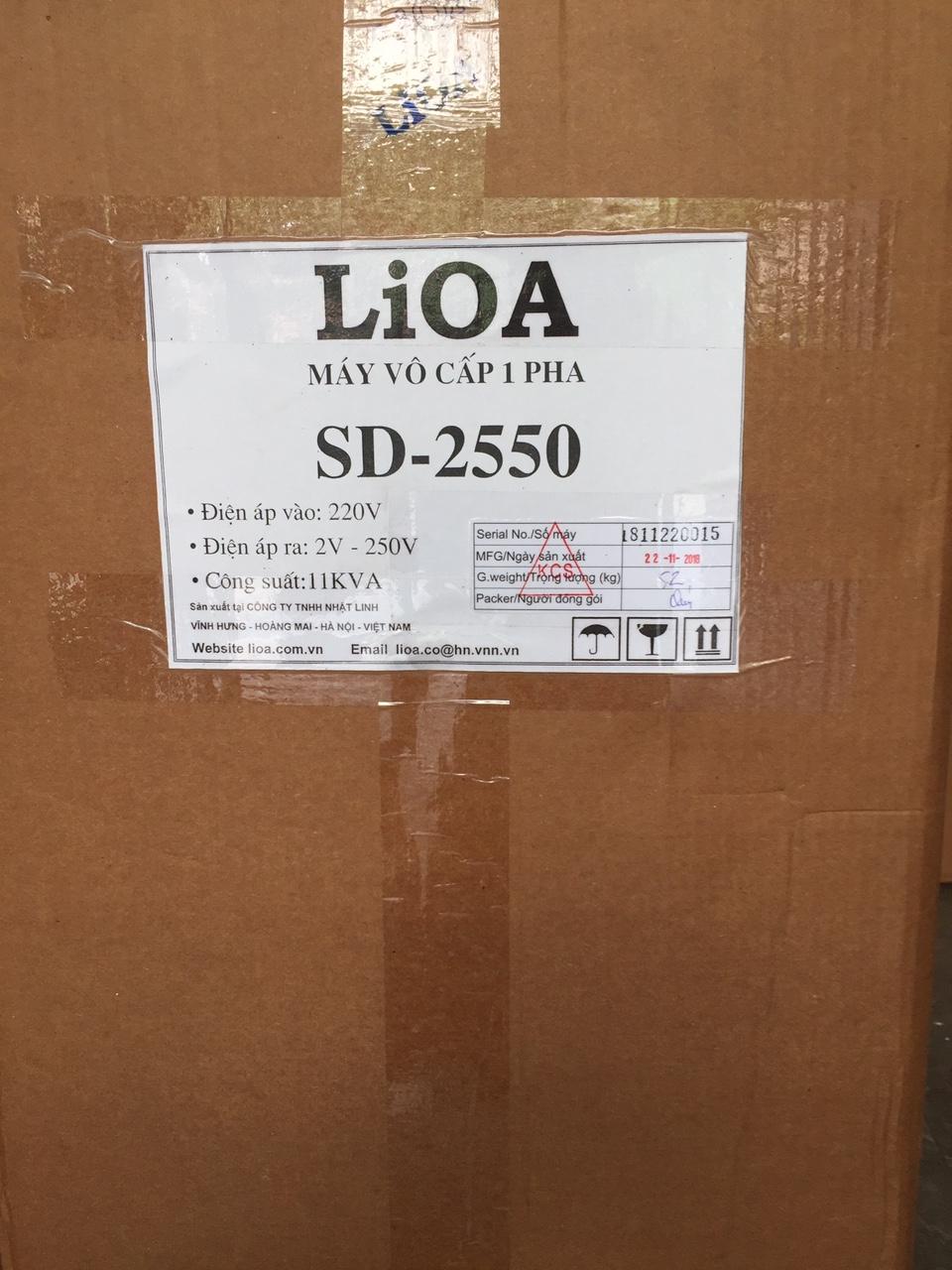 Biến Áp Vô Cấp LiOA SD 2550