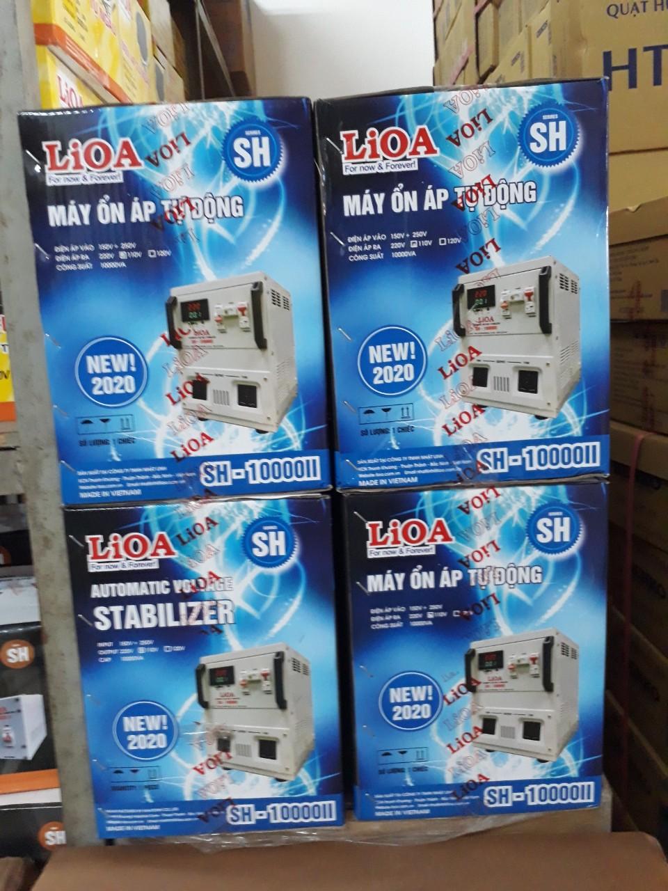 Ổn Áp LiOA 1 Pha SH 10kva (150-250v) New 2020 - Đồng hồ điện tử