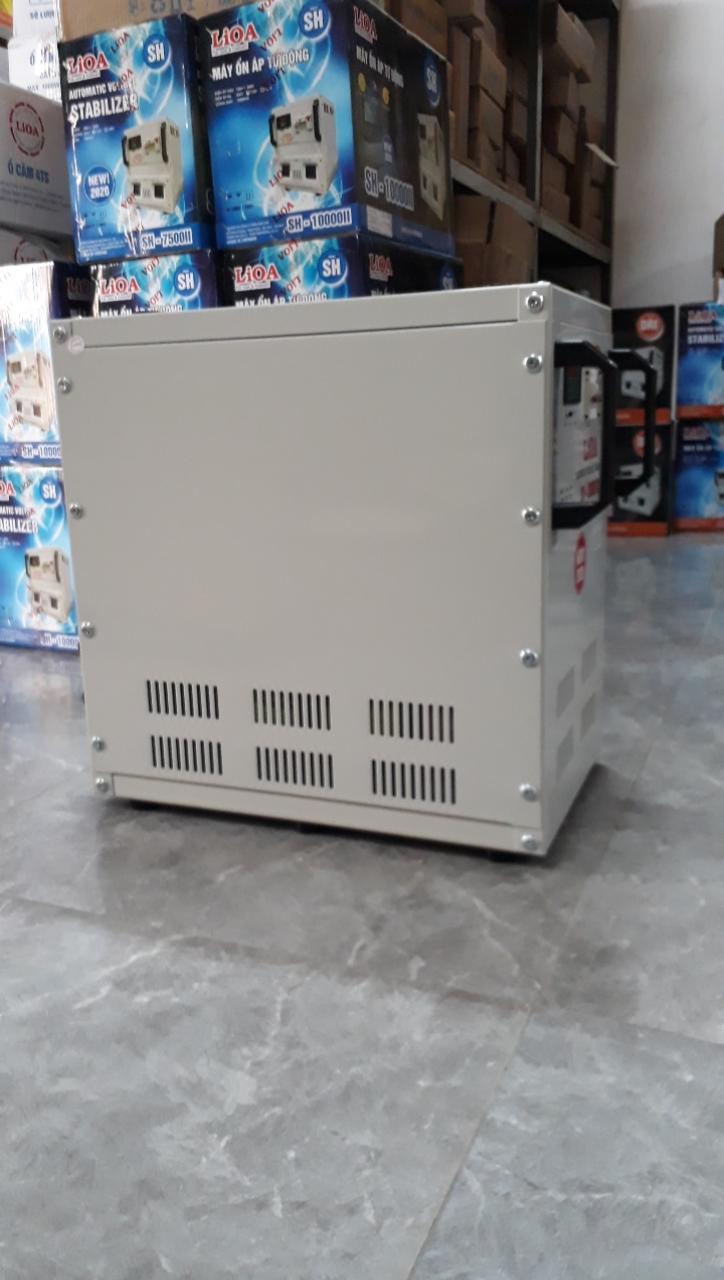 Ổn Áp LiOA 1 Pha SH 20Kva (150v-250v) NEW 2020 - Đồng hồ điện tử