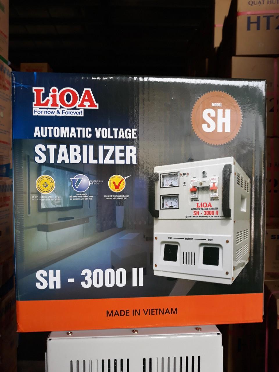 Ổn Áp LiOA 1 Pha SH 3Kva (150-250v)