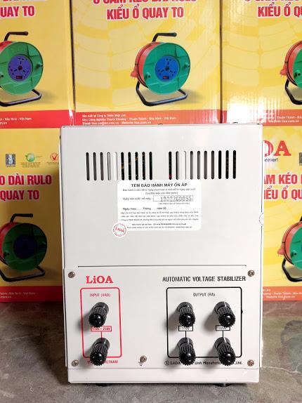 ỔN ÁP LIOA 1PHA SH 5KVA (150-250v)