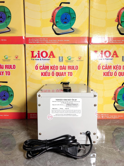 Ổn áp LiOA 1 Pha  SH 1Kva (150-250v)