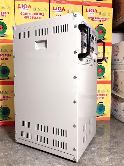 Ổn Áp LiOA 3 Pha SH3 15KII (260-430v) NEW 2020 - Đồng hồ điện tử