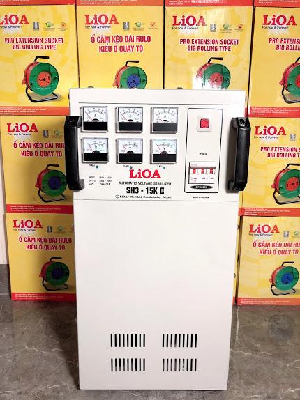 Ổn Áp LiOA 3 Pha SH3 15KII (260-430v)