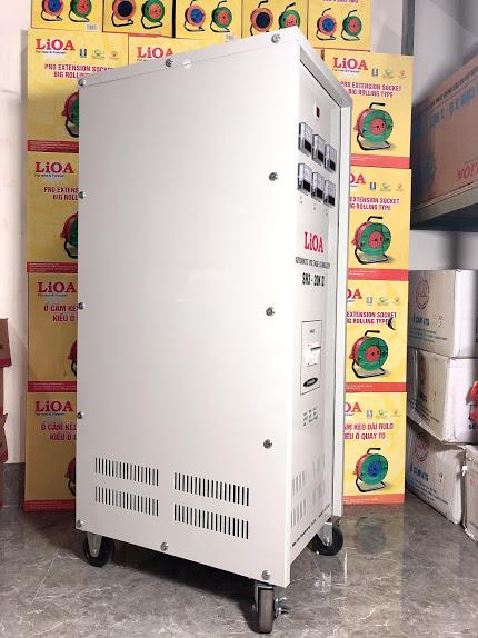 Ổn Áp LiOA 3 Pha SH3 20KII NEW 2020 (260-430v) - Đồng hồ điện tử