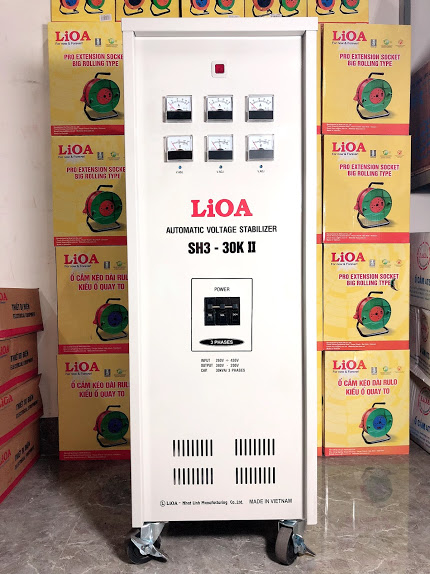 Ổn Áp LiOA 3 Pha SH3 30KII (260-430v)