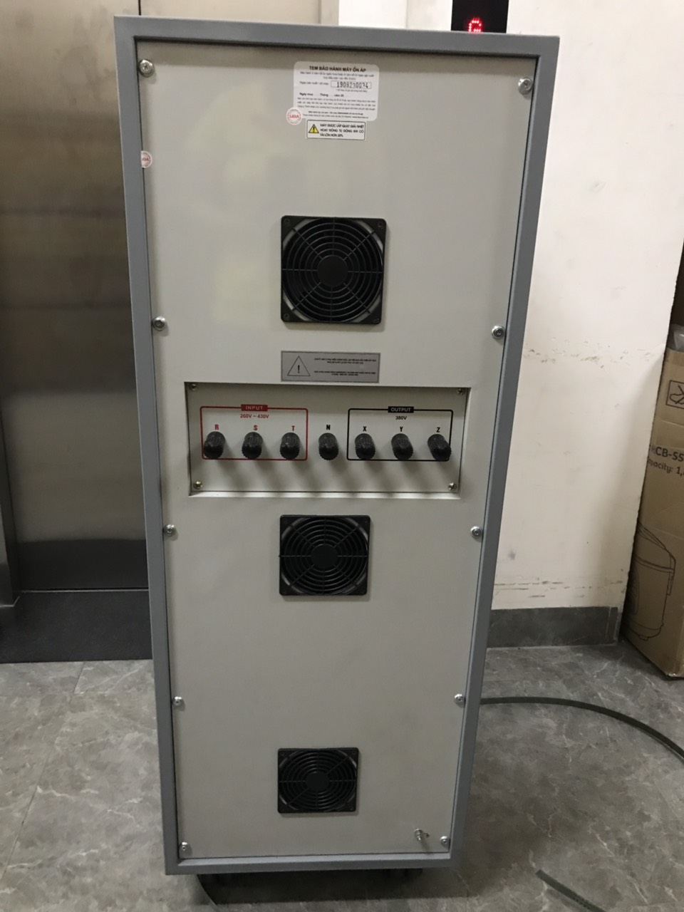 Ổn Áp LiOA 3 Pha SH3 45KII (260-430v) NEW 2020 - Đồng hồ điện tử