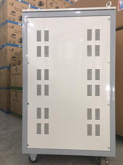 Ổn Áp LiOA 3 Pha SH3 75KII (260-430v) New 2020 - đồng hồ điện tử
