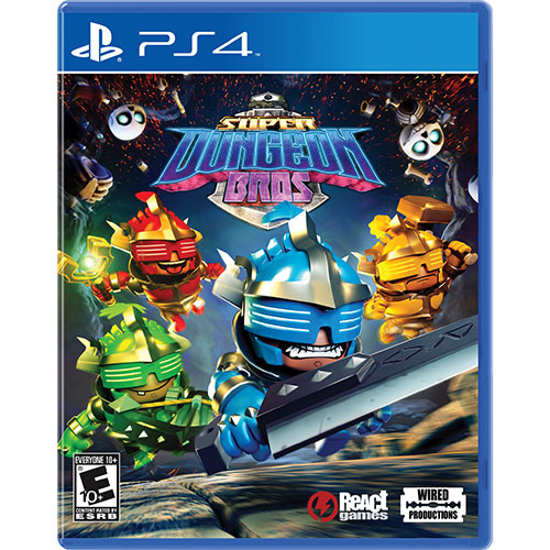 Super Dungeon Bros game PS4 / PS5