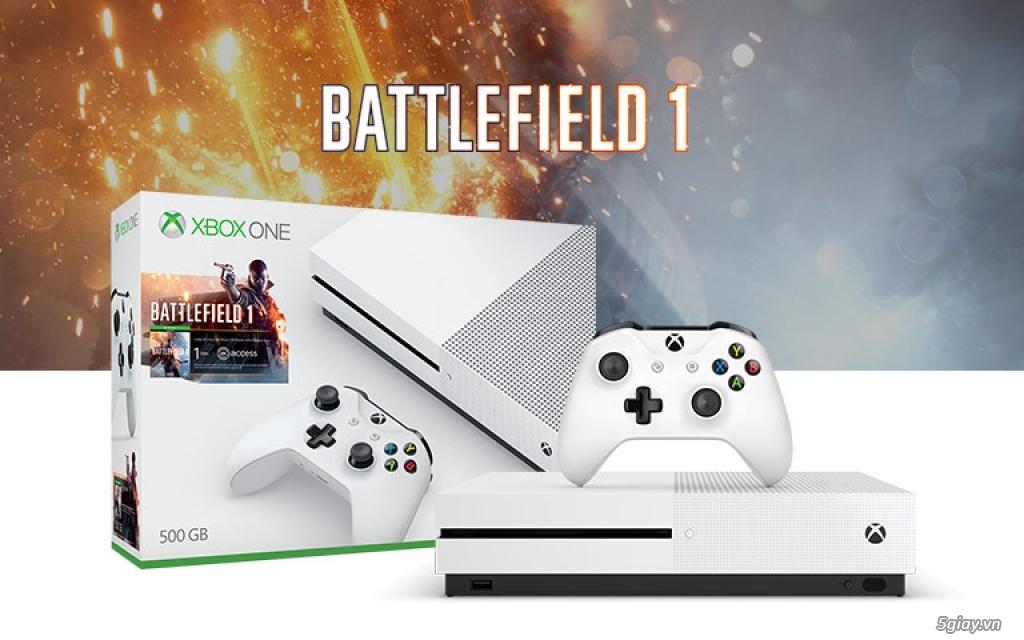 Xbox One S 4K 500GB Battlefield 1 Bundle