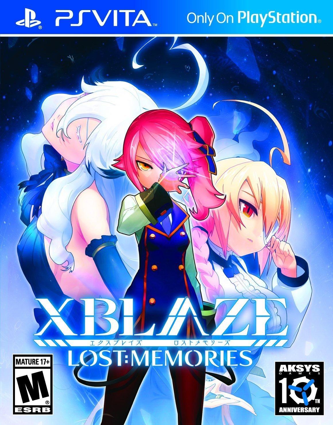 XBLAZE LOST : MEMORIES - PSVITA