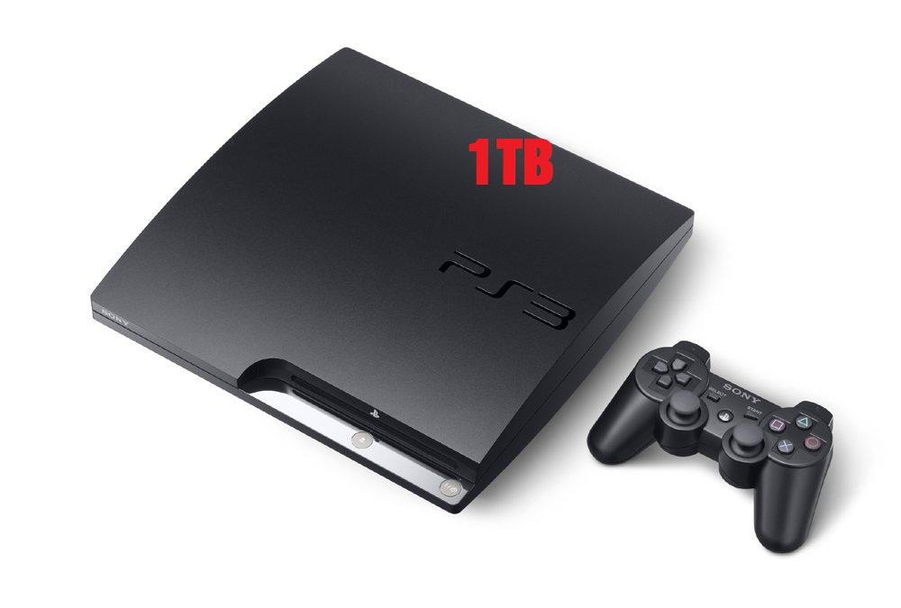PS3 Slim 1Tb Hack (2nd)