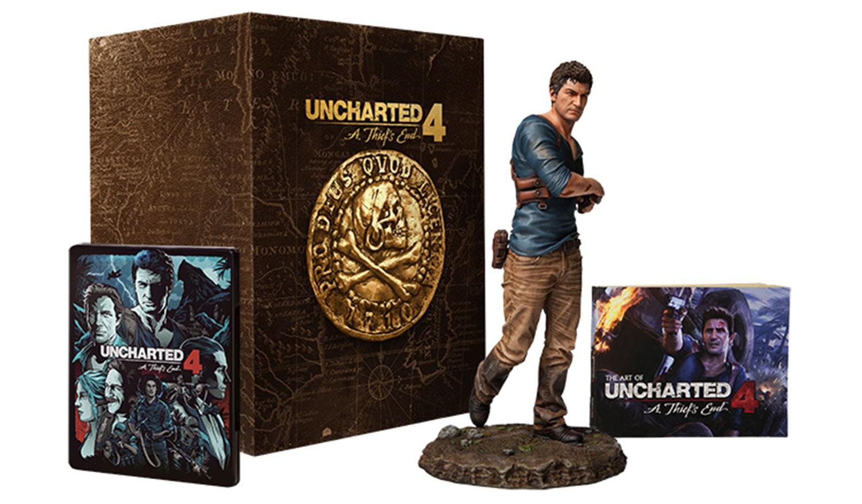 Uncharted 4 A Thiefs End Libertalia Collectors Edition