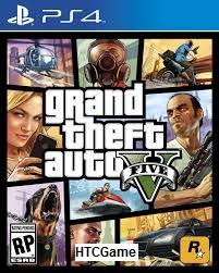 GTA 5 - Grand Thief Auto V Game PS4