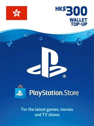 PSN Gift Card 300$ HK PlayStation Network 300 HKD - PSN HONG KONG