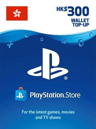 PSN Gift Card 300$ HK PlayStation Network 300 HKD - PSN HONG KONG