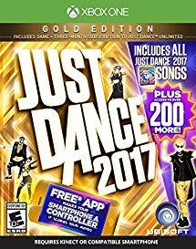 Just Dance 2017 Gold Edition (Includes Just Dance Unlimited subscription) - Xbox One