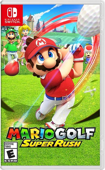 Mario Golf: Super Rush - Game Nintendo Switch