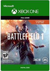 Battlefield 1 code digital game xbox one