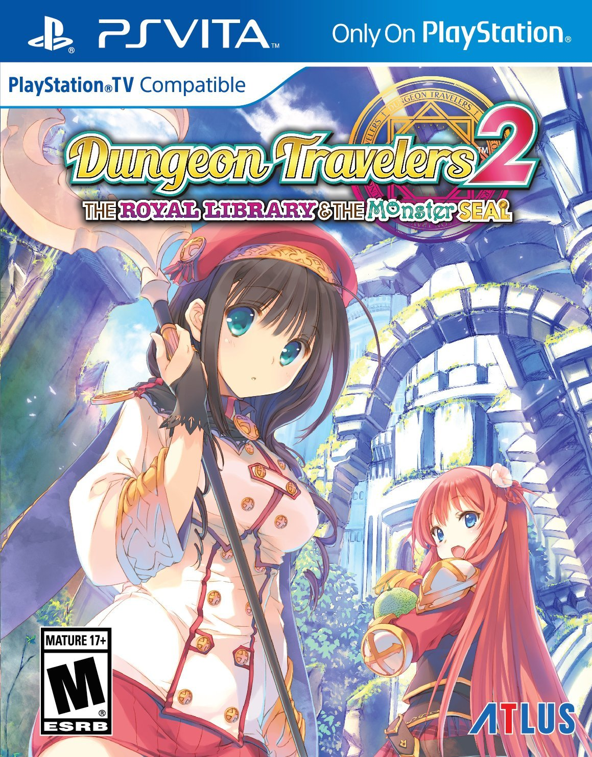 Dungeon Travelers 2 : The Royal Library & the Monster Seal PSVITA