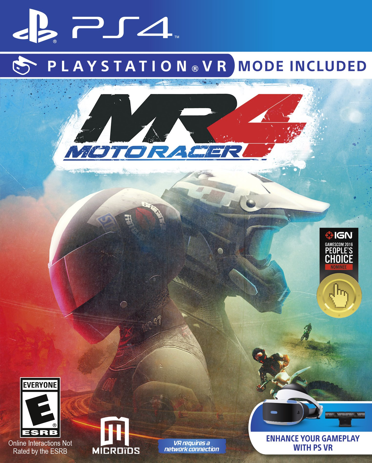 Moto Racer MR4 Playstation VR
