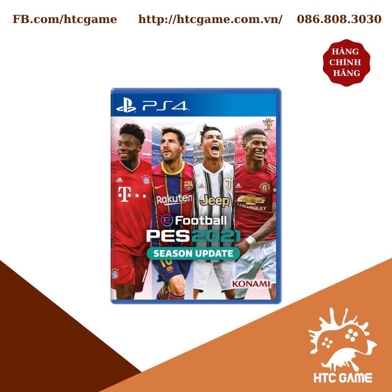 Đĩa PES 21 Hệ Asia Season Update (eFootball PES 2021 Std) - game PS4