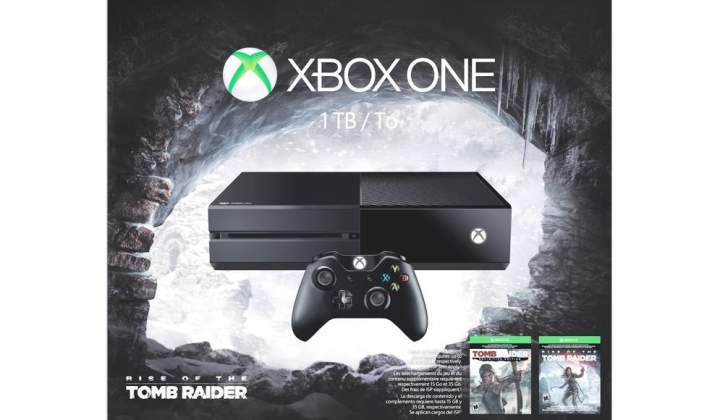 Máy Xbox One Raise Of The Tomb Raider
