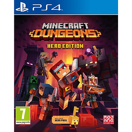 Minecraft Dungeons: Hero Edition-Game PS4