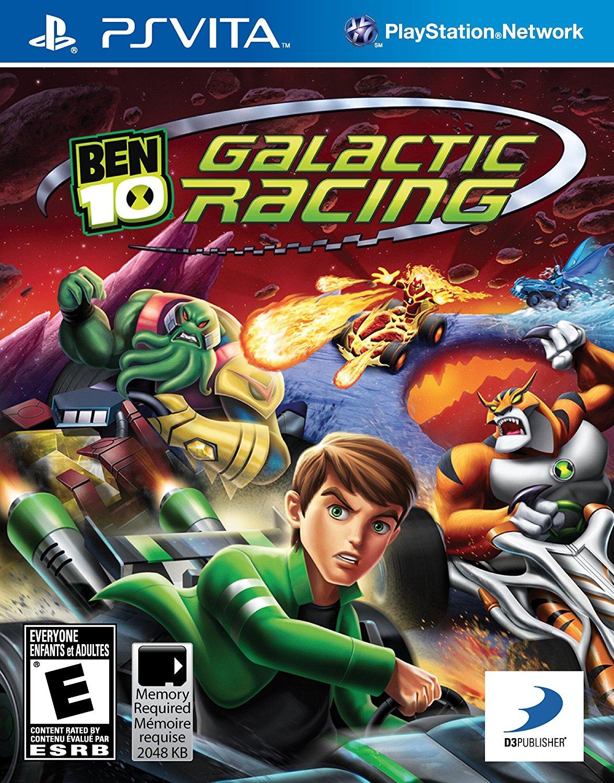 Ben 10 Galactic Racing PSVITA