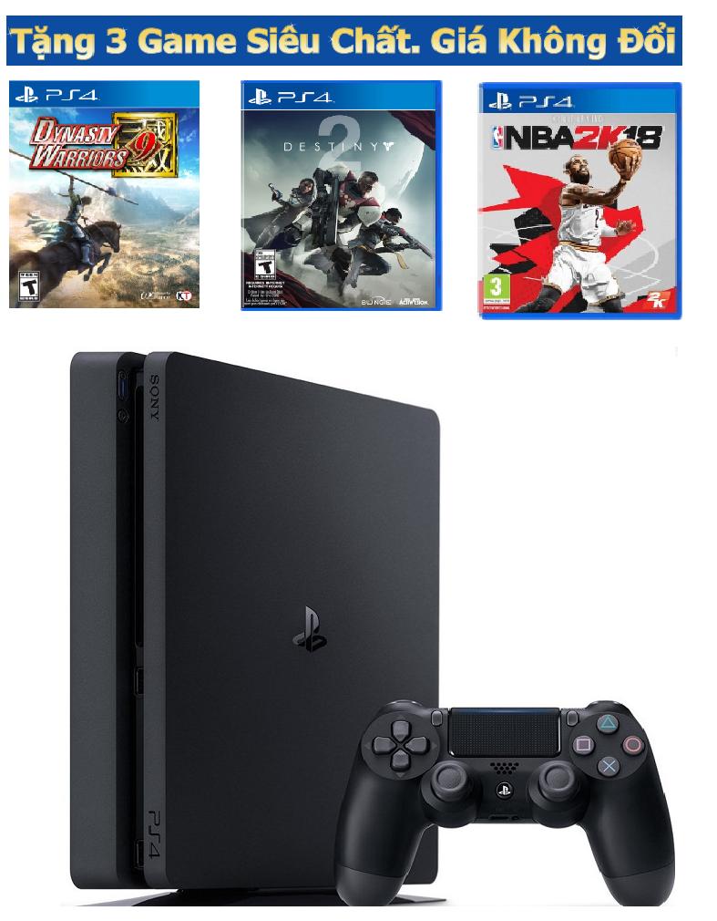 Máy chơi game PS4 Slim 500Gb Combo 1