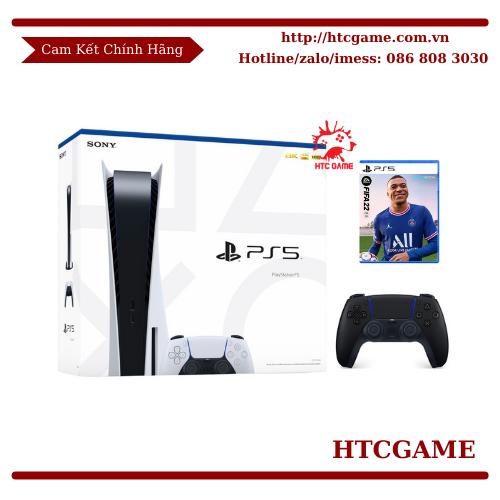 MÁY PS5 BẢN Ổ ĐĨA CFI-1018A 2 TAY CẦM KÈM ĐĨA GAME FIFA 22  (BẢO HÀNH 12 THÁNG)