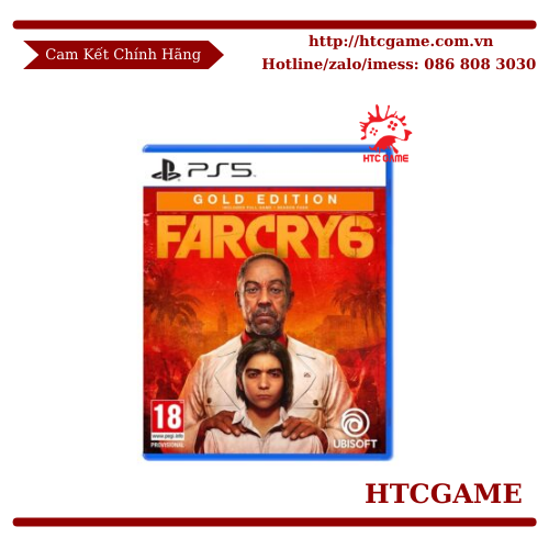 Far Cry 6 Gold Edition - Game PS5