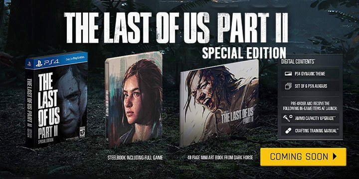The Last Of Us 2 Special Edition - Game PS4