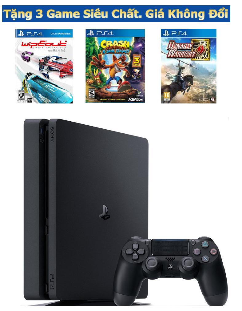 Máy chơi game PS4 Slim 500Gb Combo 2