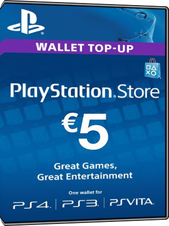 PSN Card 5 Euro