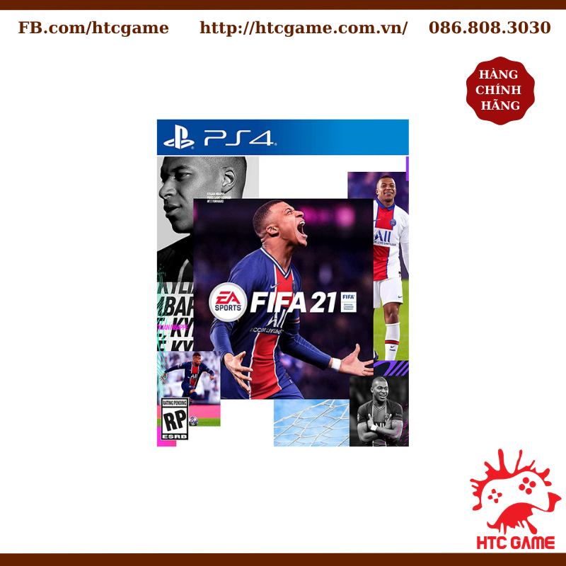 FIFA 21 Standard Edition - Đĩa game PS4