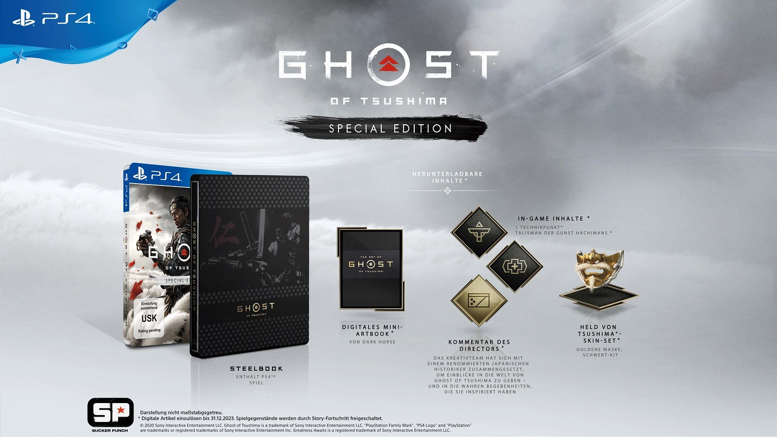 Ghost of Tsushima Special Edition - Game PS4