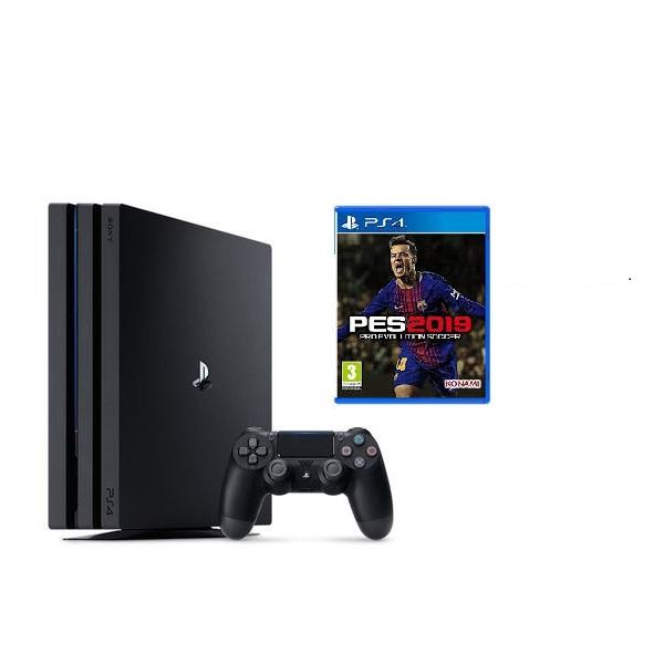 Máy PS4 PRO 4K 1tb + đĩa PES 2019